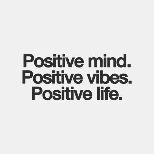 Surround yourself with positive people and positivity daily, positivity inspires! ♥