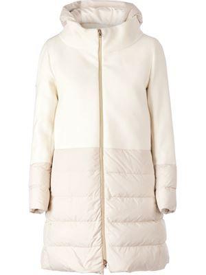 Herno Coat - detachable hood, $914