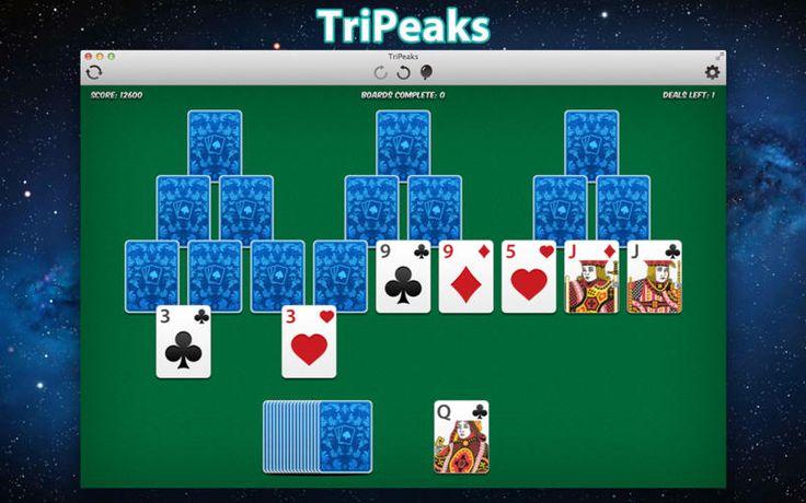 Mac App TriPeaks Games Card **** 4 0.99 NOW