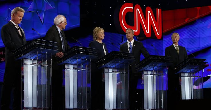 The date by the Nielsen ratings averaged 15.3 million on CNN, the highest ever for a Democratic presidential primary debate.