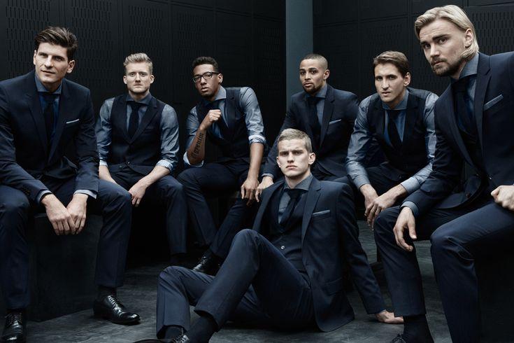 HUGO BOSS Outfits the German Football Team for World Cup 2014 | SENATUS