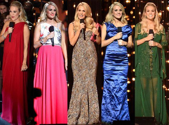 Pregnant Carrie Underwood, 2014 CMA Awards