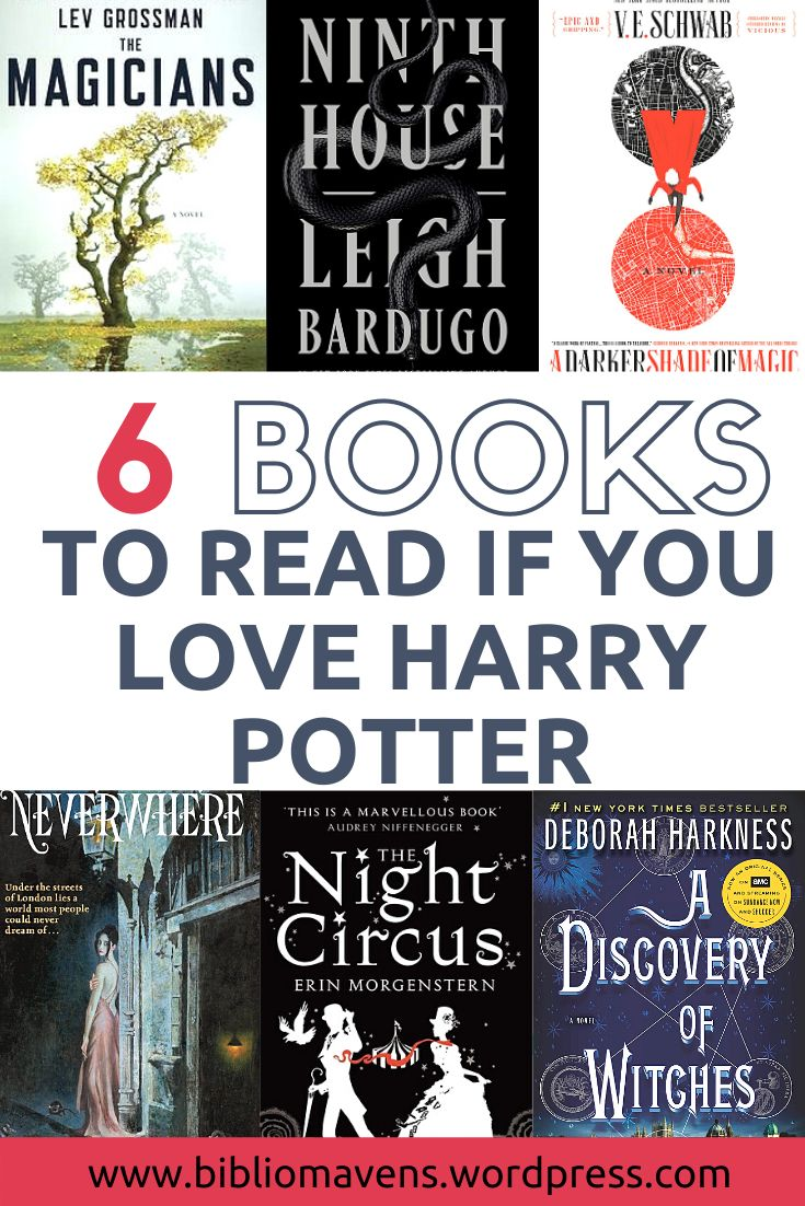 6 magical books like harry potter to read for adults in
