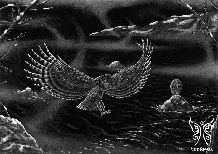 Blackston's Fish Owl