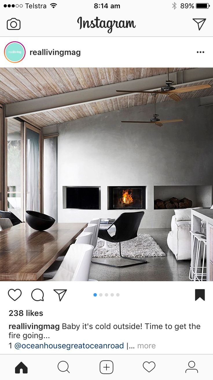 Ceiling and fireplace inspo - real living magazine