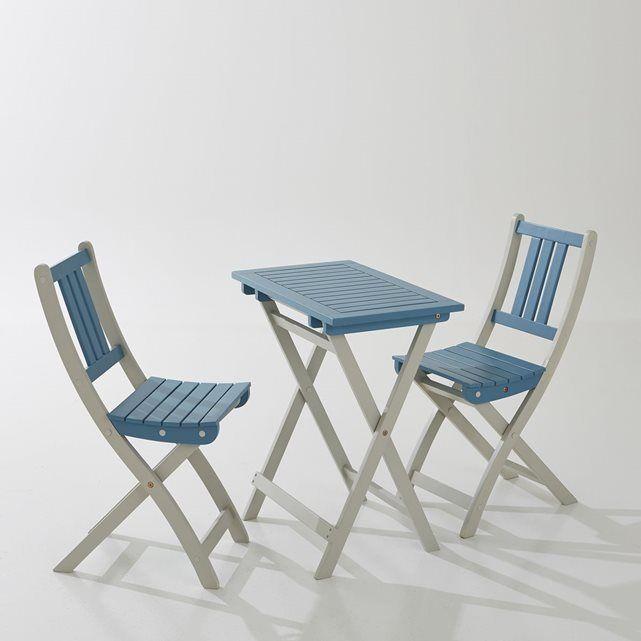 Table de jardin pliable en acacia FSC La Redoute Interieurs 77€
