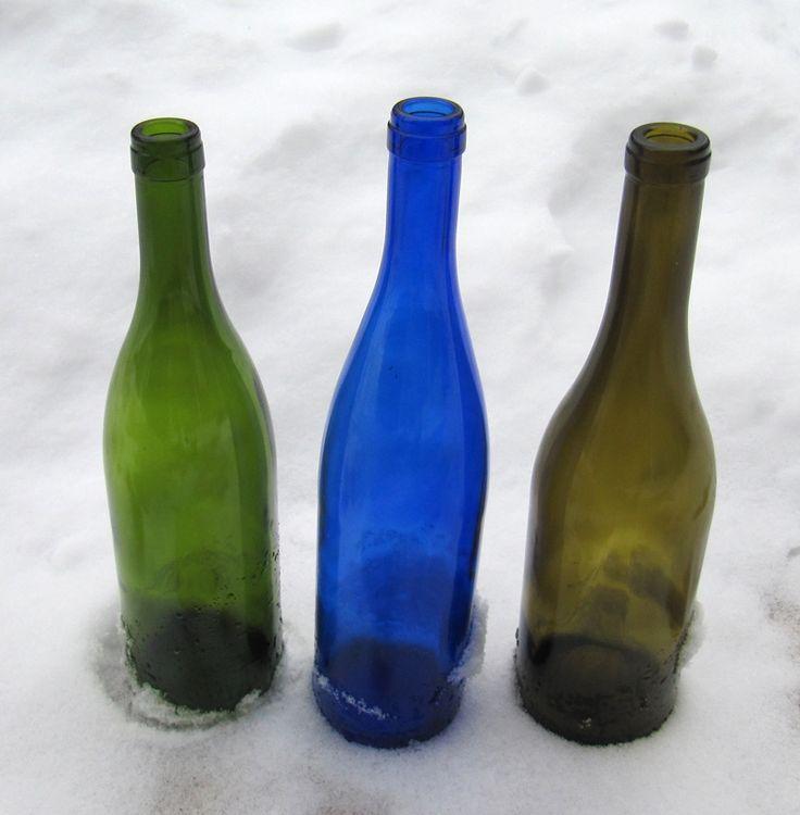 25 b sta glass bottles for sale id erna p pinterest for Glass bottles for wine