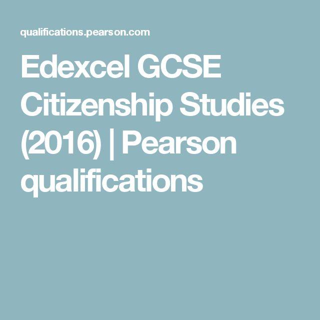 Edexcel GCSE Citizenship Studies (2016) | Pearson qualifications