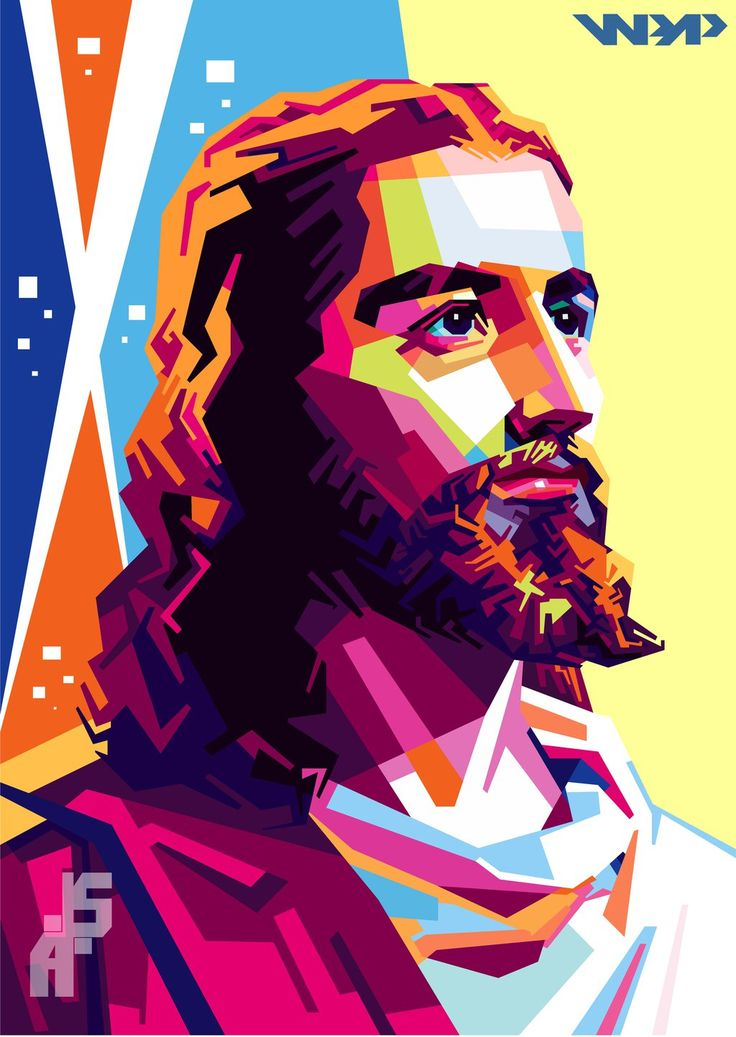 Jesus WPAP by AylmerStreet on DeviantArt