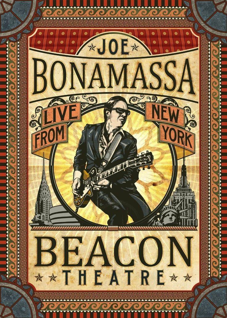 Joe Bonamassa: Beacon Theatre - Live From New York High Res Poster