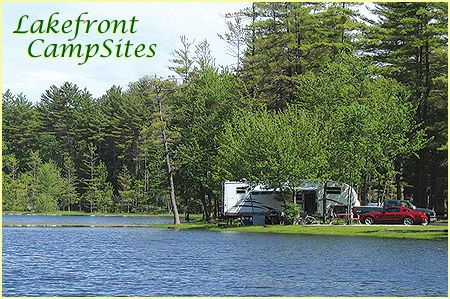 Adirondack Cabin Rentals, Campsites and Camping Facilities Near Saratoga and Lake George, NY.  A little redneck, but lots of waterfront and near-waterfront sites.