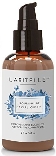 Laritelle Organic Facial Moisturizer, Rejuvenating, Nourishing, Vitamins and Antioxidants-rich Day/Night Cream for Cellular Rejuvenation, Collagen Support and Diminishing Visible Signs of Aging, 2 oz
