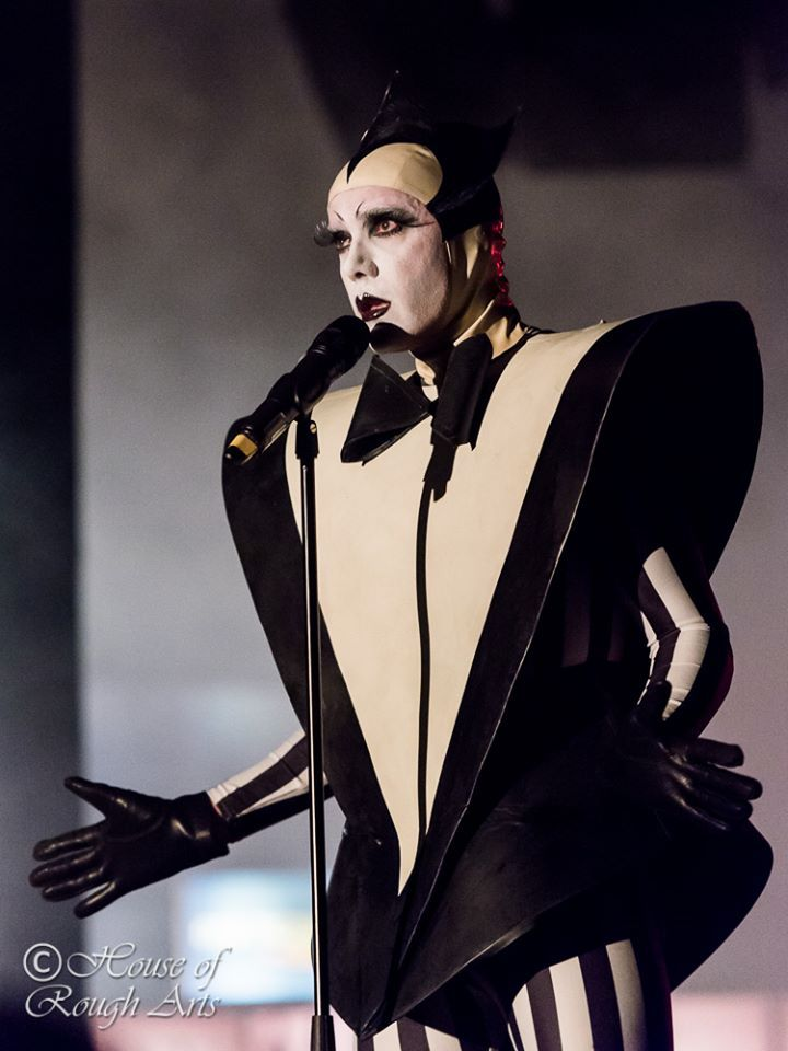 Le Pustra as Klaus Nomi Image by House of Rough Arts