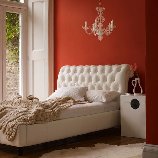 white tufted headboard gracious very nice side table also