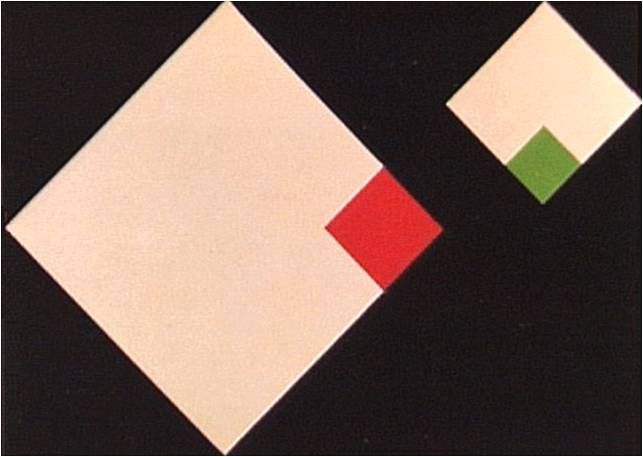 Geraldo de Barros. Concreto, 1958. (expressionismo abstrato)