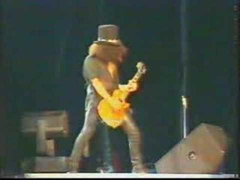 Slash  Solo - Godfather Theme  - Guns N' Roses Live in Paris