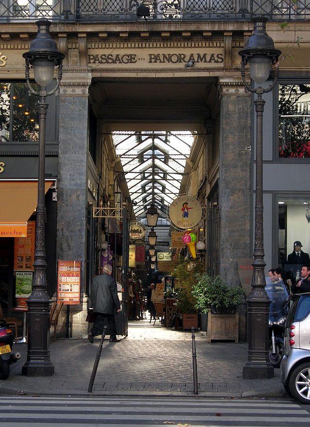 Photo de Passage des Panoramas, Paris 02, PA00086090