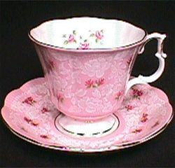 Royal Albert China Series - True Love pink