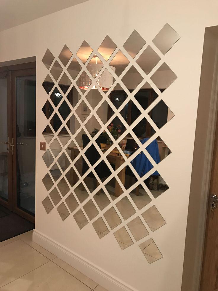 15+ Elegant Wall Mirror Collage Ideas