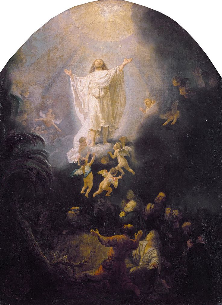 Rembrandt van Rijn 192 - Ascension of Jesus in Christian art - Wikipedia, the free encyclopedia