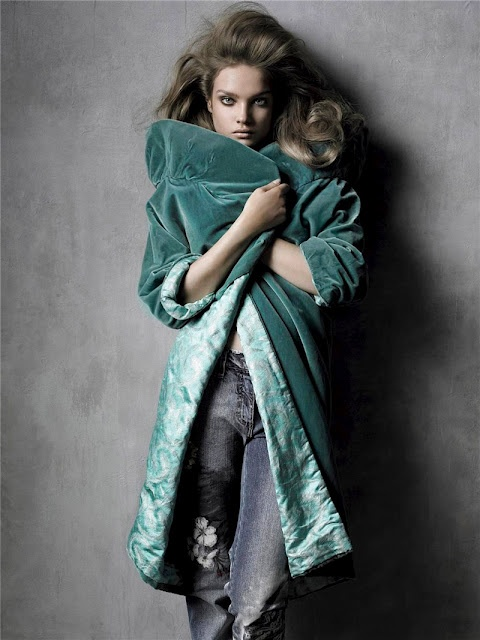 I had a blue velvet coat in my teens, which I adored!