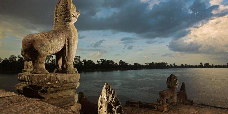 Ondergang van Angkor Wat door klimaatverandering is les voor het heden
