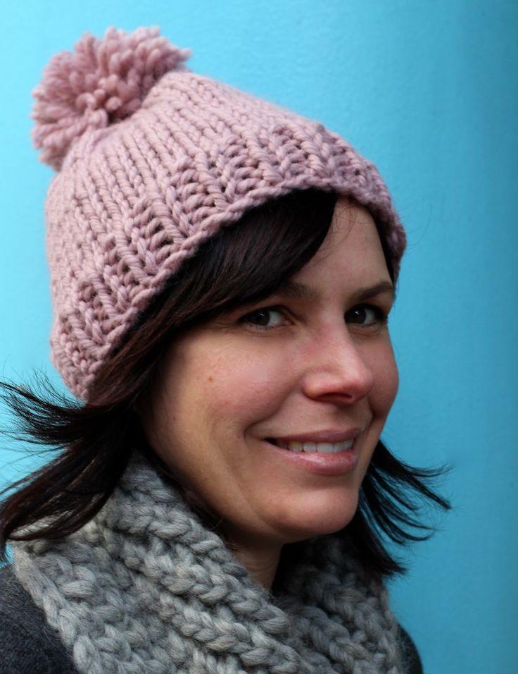 free knitting pattern hat | Curious Handmade Knitting Patterns
