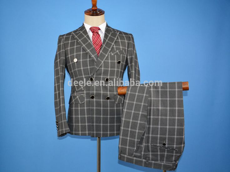 Hot new products for 2016 New Design mens suits direct manufacturer customized design uniform Double Breasted man suit