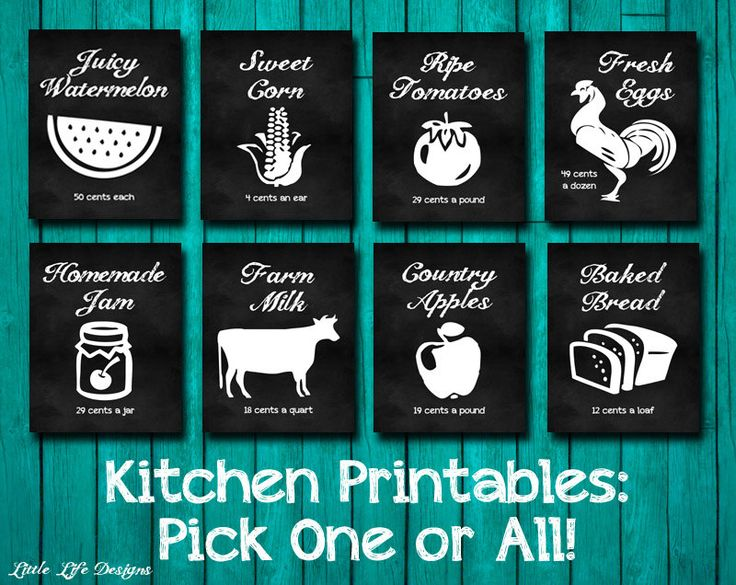 Kitchen Decor. Farm House Decor. Farmers Market Signs. Kitchen Wall Art.  Kitchen Chalkboard Signs. Farm Fresh Eggs. Fresh Milk. Kitchen Sign