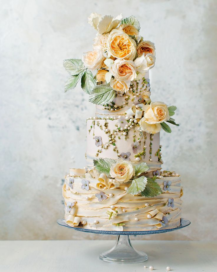A Surprise Wedding At The Bride S Rose Farm In California: 1664 Best Images About Wedding Cake Ideas On Pinterest