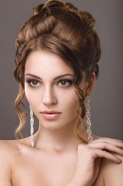 Festliche Frisuren Glatte Haare Dutt Hochsteckfrisurenselber