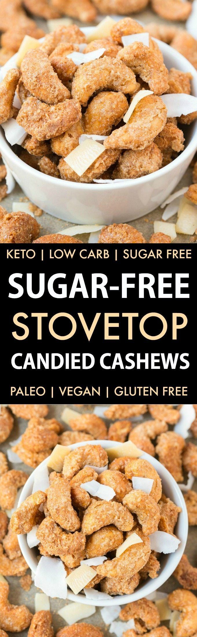Best 25 sugar free candy ideas on pinterest low carb peanut easy sugar free candied cashews keto low carb paleo stovetop made candied cashews made with zero sugar or oil perfect for holidays gifts and every negle Choice Image