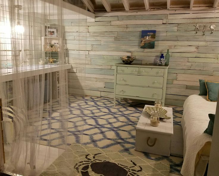 Nautical Rustic She Shed Shed Homes She Shed Decorating