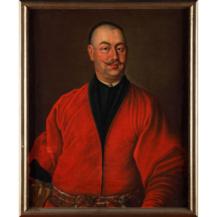 """Obraz """"Portret Seweryna Józefa Rzewuskiego"""" Jacka Olesińskiego, 1745"""