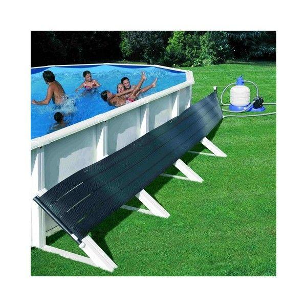 Les 25 meilleures id es de la cat gorie capteur solaire for Chauffer piscine hors sol