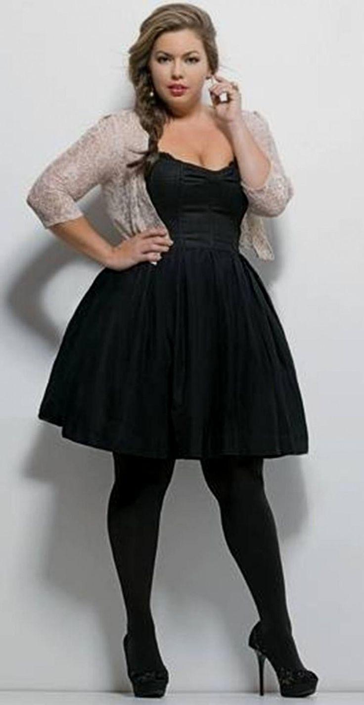 25  best ideas about Plus size black dresses on Pinterest | Nude ...