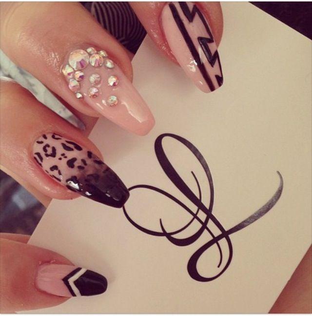 stilettos dope nail design swag cute cute cute pinterest dope