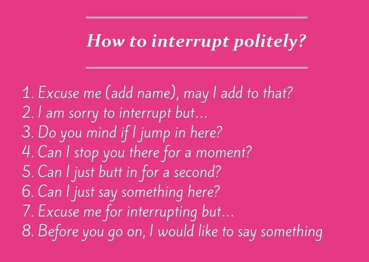How to interrupt politely in English? - eAge Tutor