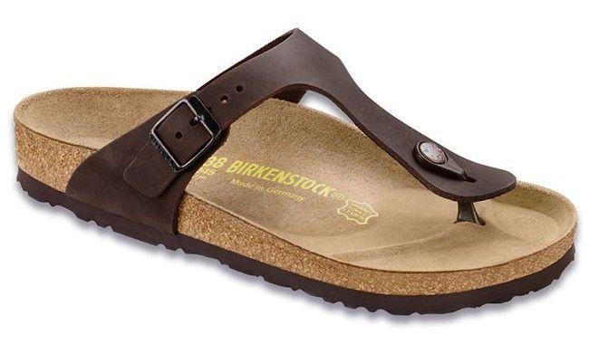 Birkenstock Gizeh Sandal - Oiled Leather Habana -