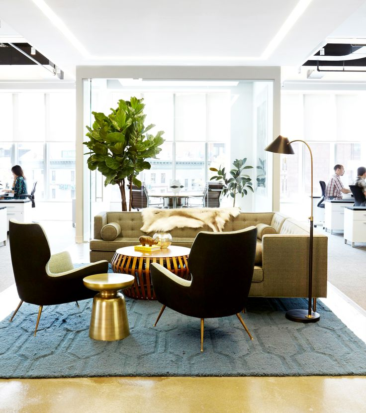 Inside The Gorgeous Offices Of 1stdibs Receptions