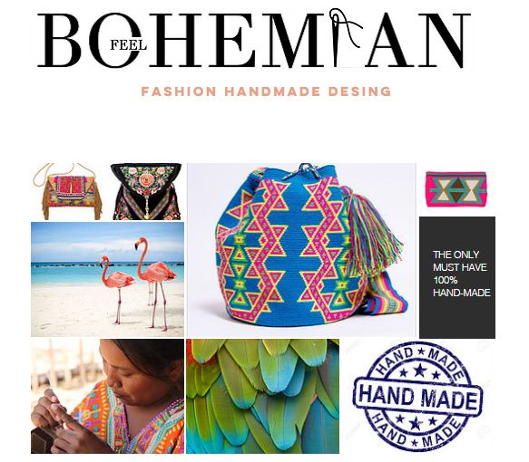 The product HANDMADE ETHNICAL WAYUU BAG is sold by BOHEMIAN FEEL in our Tictail store.  Tictail lets you create a beautiful online store for free - tictail.com