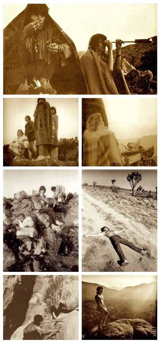 1969 DESERT TRIPPIN' | GRAM PARSONS, ANITA PALLENBERG & KEITH RICHARDS