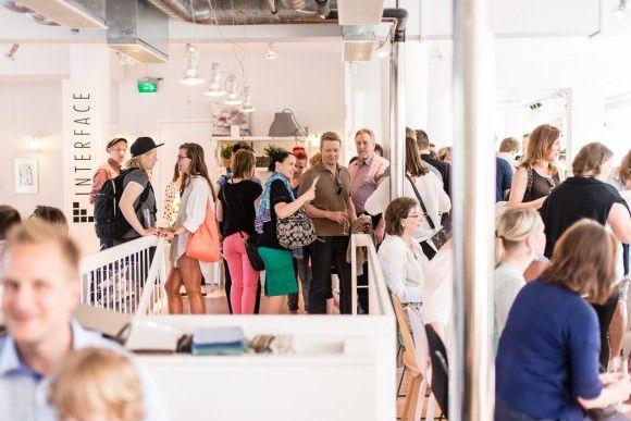 Saana ja Olli & Bedesign pop-up opening 2013