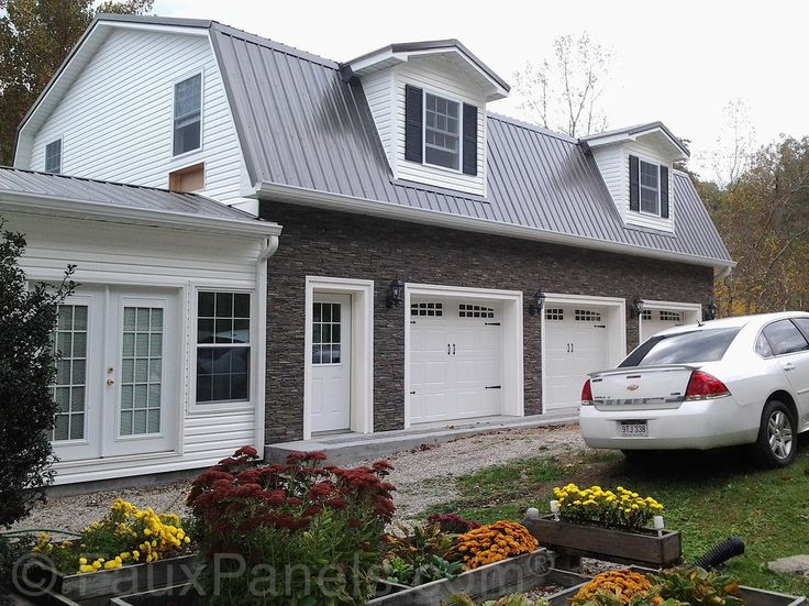 32 best garage images on pinterest garages carriage house and garage windsor photo gallery faux brick stone rock projects solutioingenieria Images