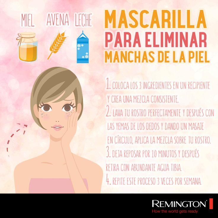 Si tienes manchas en la piel, no dudes en elaborar y aplicarte esta maravillosa mascarilla. #beauty #tips #style #woman #skin #skincare