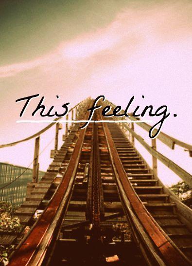 #Rollercoaster, #Feeling, #Scary