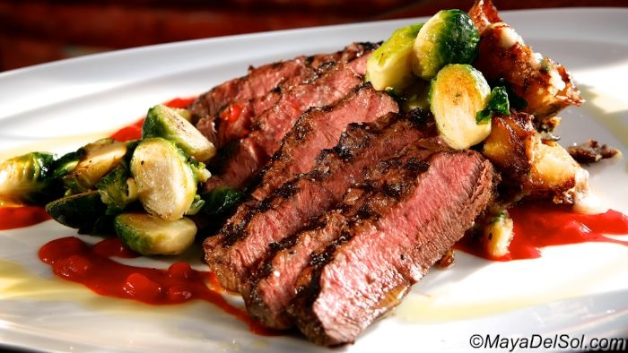 Flat iron steak, Flat irons and Brussels sprouts on Pinterest