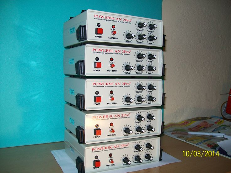 Powerscan 2Pro - ultra deeptest pulse induction metal detector. For more www.powerscan.eu