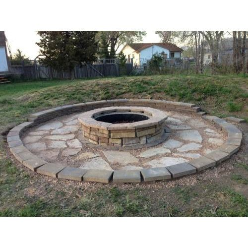 Best 25 Stone Fire Pits Ideas On Pinterest Fire Pit