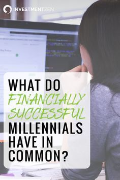 What separates the millennials who are struggling with the ones who are thriving? We asked a certified financial planner who works with Gen Y to share her thoughts.
